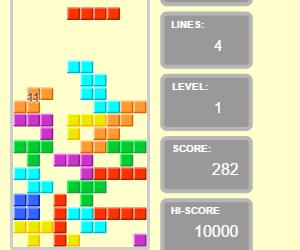 tetris online senza